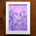 Lilac Garden botanical fine art print