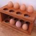 Egg Rack - Reclaimed Rimu