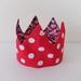 Fabric crown