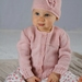 Abigail Cardi and Hat - Baby Cakes by lisaFdesign- Bc39