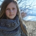 Aria Textured Cowl - Honey Cakes by lisaFdesign