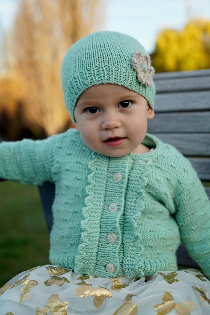 Imogen Cardi and Hat - Bc83
