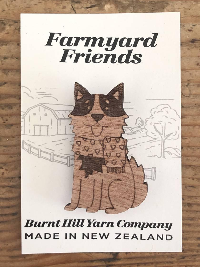 Farmyard Friends - Dog Pin