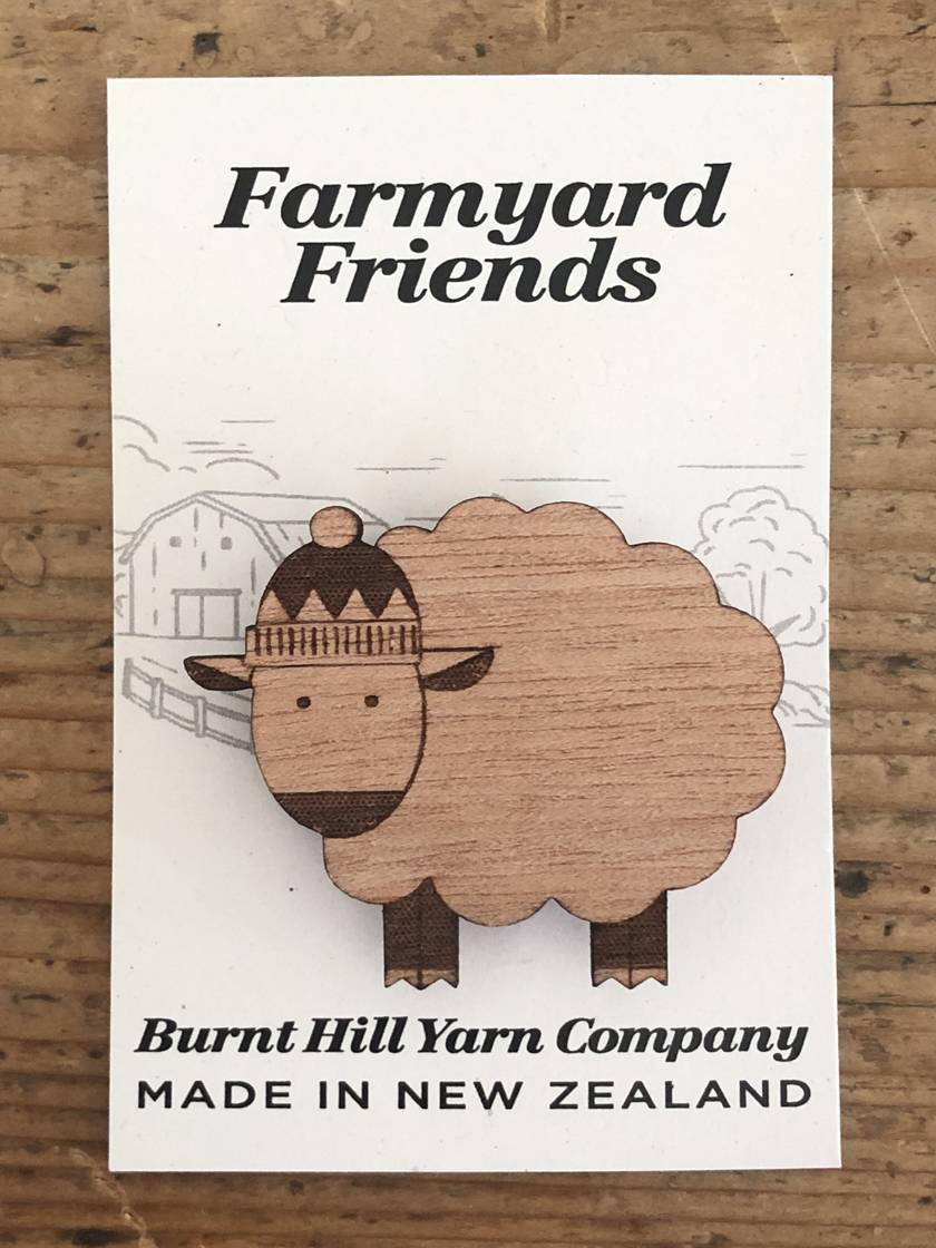Farmyard Friends - Sheep Pin