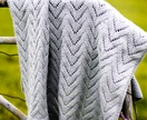 Twisty Lace Baby Blanket Pattern - Baby Cakes by lisaFdesign - Bc11