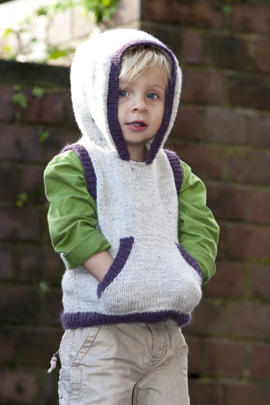 Knitting Pattern Hooded Vest : Boys Hooded Vest Pattern - Little Cupcakes by lisaFdesign ...