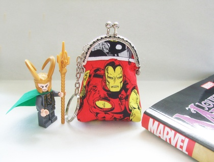 IttyBitty Tiny Marvel Superhero Fabric Purse - Iron Man