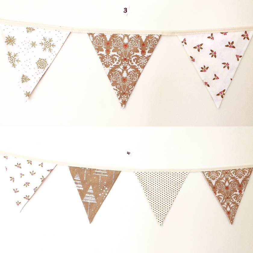 Christmas Festive Bunting - It's time to think about the decorations!!!