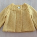 Beautiful Daisy Swing Cardigan....100% Pure Wool Hand Knitted in New Zealand
