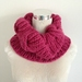 Keep Toasty Warm This Winter in this Snuggly Snood - Cowl - Scarf - Hand Knitted