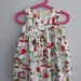The perfect little party dress for Christmas - Beautiful hand made dress - SIZE 3 -Made in New Zealand