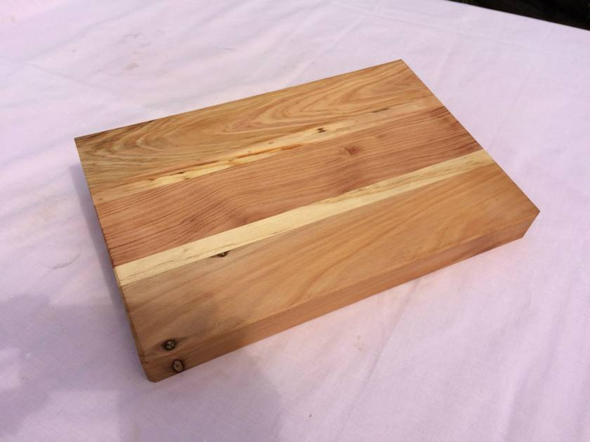 Macrocapa/Pine Chopping/Serving Board 360x240x40mm - Free Freight Nationwide NZ