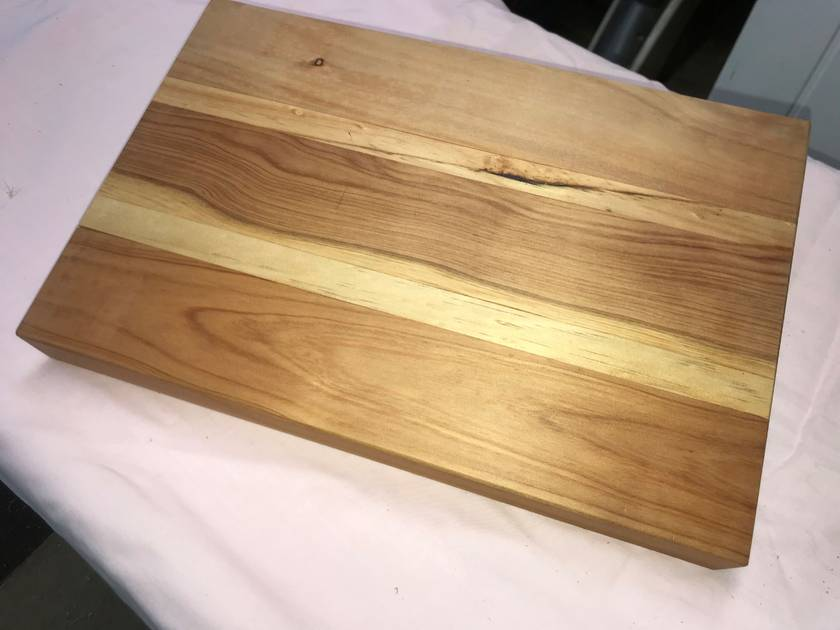 Microcapa/Pine Chopping/Serving Board 350x230x32mm-FREE SHIPPING WITHIN NZ