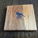 NZ Recycled Rimu Wooden Coasters with NZ Native Bird Logo Set of six - Free shipping within NZ