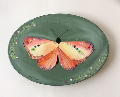Original  Butterfly painting