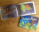 Queasy Kea, a New Zealand childrens book with bright illustrations and rhyming environmental story