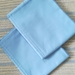 Pair  Queen Pillow Cases -Mid Blue ( Fit Bambillo)-FREE POSTAGE