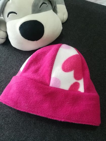 *New* Reversible Fleece Beanie