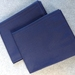 **SALE** Pair Navy King Size Pillow Cases (Fit Bambillo)