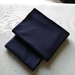 *NEW* Bambiilo Sized Pair Soft Jersey Knit Pillow Cases -Navy