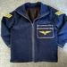 'Lil Airforce' Padded Denim Jacket.