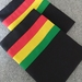 Rasta Streamline Pillow Cases - Standard