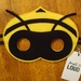 Bee felt mask, soft & durable for kids' imaginative play