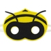 *SOLD OUT* Beatrice the Bee - Felt mask for kids' imaginative play
