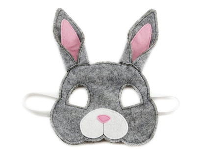 Ruby the Rabbit - Felt mask for kids' imaginative play