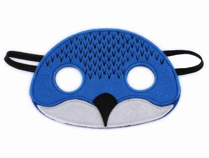 Billy the Blue Penguin (Korora) - Felt mask for kids' imaginative play