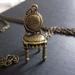 SALE - Have a seat, charm necklace