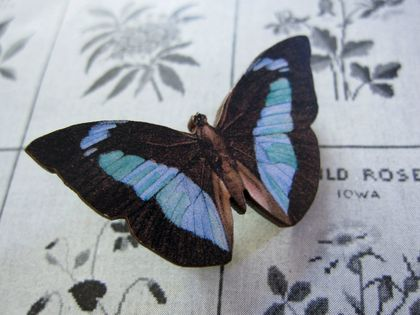 sale - little butterfly brooch