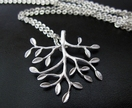 20% off with voucher code SALE - leafy branch necklace