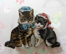 20% off any purchase with voucher code SALE - Kitsch kitties, lovecats with bonnets