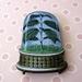 terrarium brooch