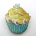 20% off with voucher code SALE - cute cupcake brooch
