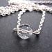 sale - Bead necklace - vintage sparkler