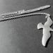 silver glide necklace