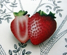 sale - Strawberry brooch