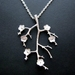 flowering branch necklace