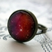 sale - Pink galaxy ring