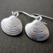 Little shell earrings