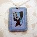 sale - retro cameo necklace