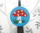 20% off with voucher code SALE - Fairy mushroom ring