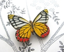 20% off with voucher code SALE - Pretty bright butterfly brooch