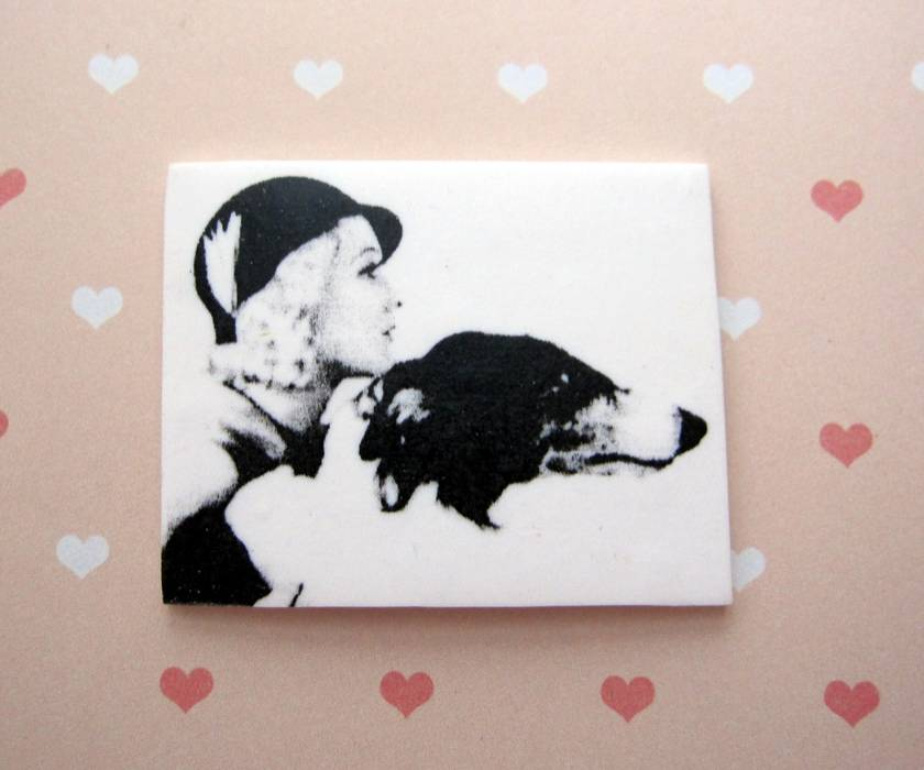 SALE - A girls best friend magnet
