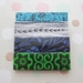 sale - pattern stack brooch