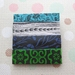 sale - pattern stack brooch