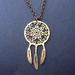 sale - dreamcatcher necklace