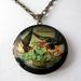 Vintage romance locket necklace